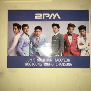 Used, Kpop 2pm poster for sale